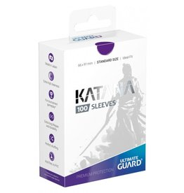 Ultimate Guard Katana Sleeves 100 Purple