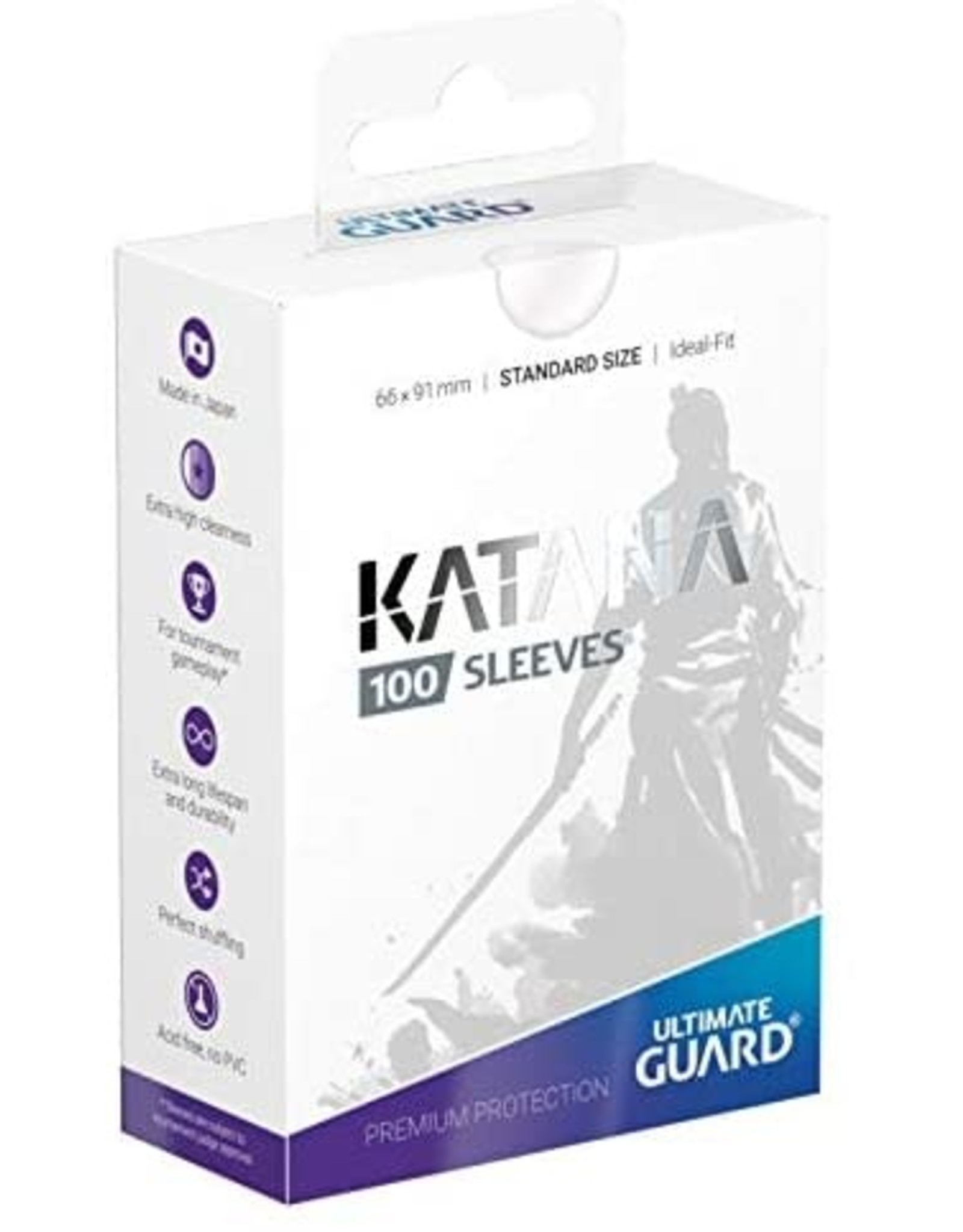 Ultimate Guard Katana Sleeves 100 Transparent