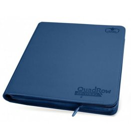 Ultimate Guard QuadRow ZipFolio XenoSkin Dark Blue