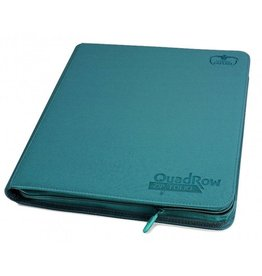 Ultimate Guard QuadRow ZipFolio XenoSkin Petrol Blue