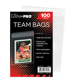 Ultra Pro Resealable Team Bags (100-Pack)