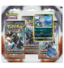 Pokemon Burning Shadows 3 Pack Blister