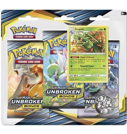 Pokemon Unbroken Bonds 3 Pack Blister