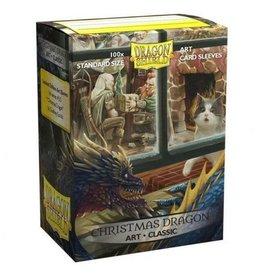 Arcane Tinmen Dragon Shield Christmas Dragon' Art Sleeves Classic 100 Standard