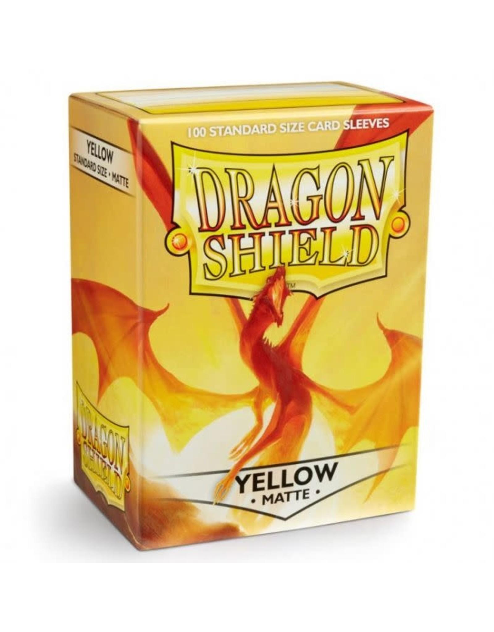 Arcane Tinmen Dragon Shield Yellow Matte 100 Standard