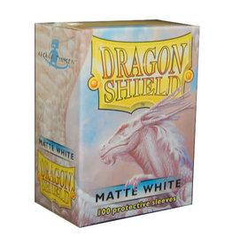 Arcane Tinmen Dragon Shield White Matte 100 Standard