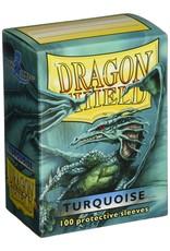 Arcane Tinmen Dragon Shield Turquoise Classic 100 Standard