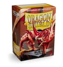 Arcane Tinmen Dragon Shield Ruby Matte 100 Standard