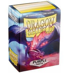 Arcane Tinmen Dragon Shield Purple Matte 100 Standard