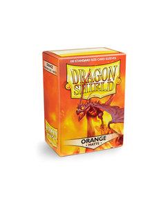 Arcane Tinmen Dragon Shield Orange Matte 100 Standard