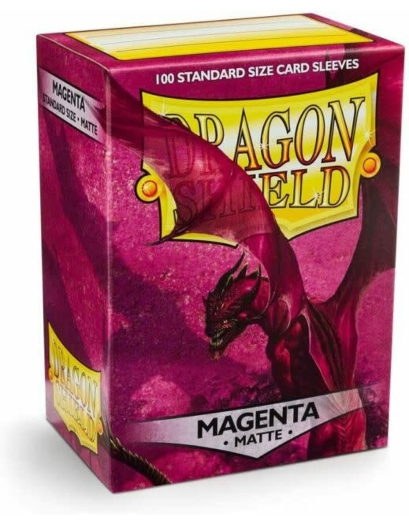 Arcane Tinmen Dragon Shield Magenta Matte 100 Standard