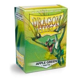 Arcane Tinmen Dragon Shield Apple Green Matte 100 Standard