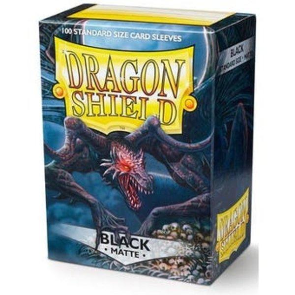 Arcane Tinmen Dragon Shield Black Matte 100 Standard