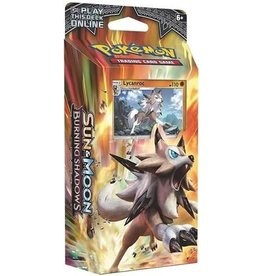 "Pokemon Burning Shadows Theme Deck  ""Rock Steady"" [Lycanroc]"