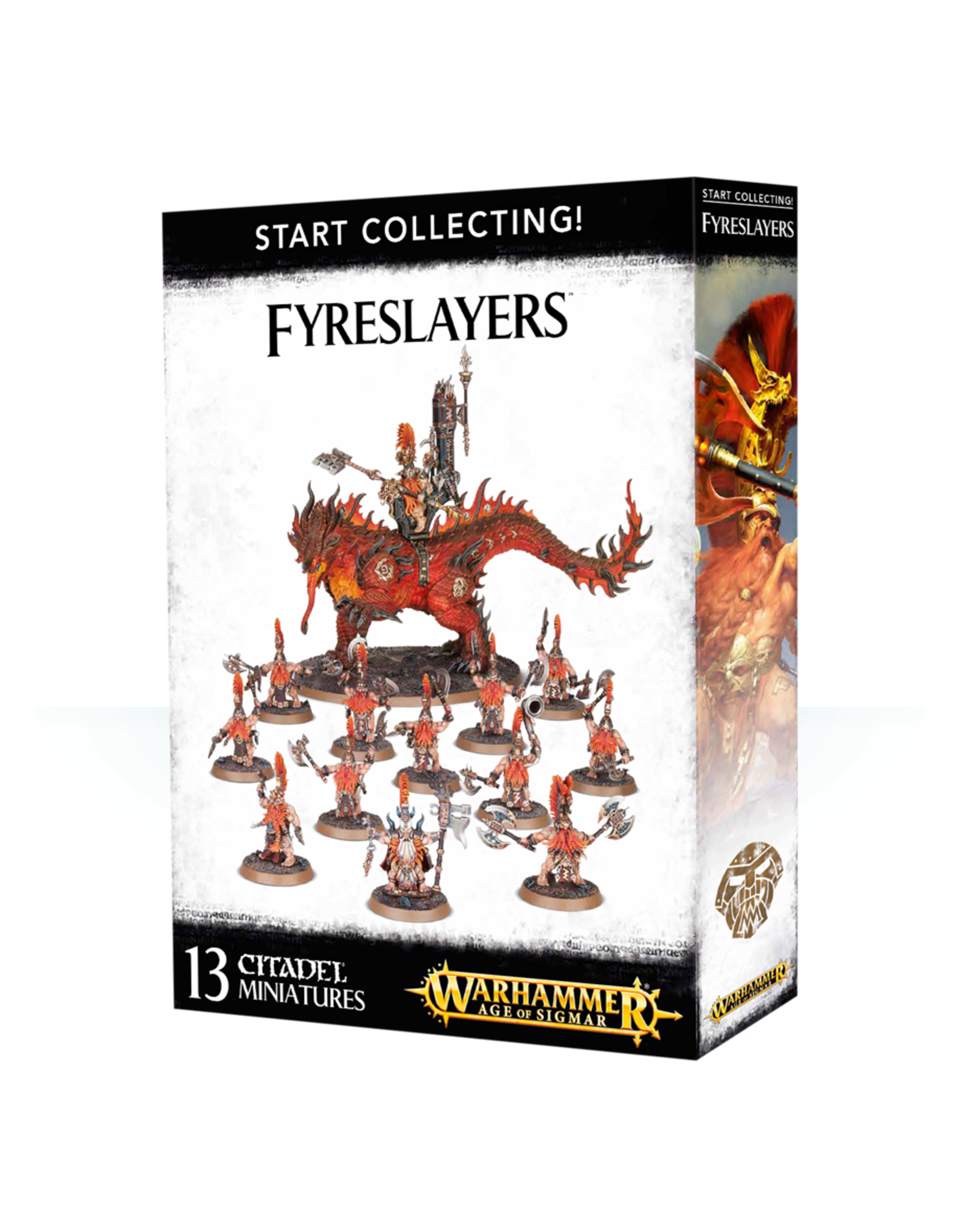 Warhammer Age of Sigmar Start Collecting! Fyreslayers
