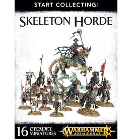 Warhammer Age of Sigmar Start Collecting! Skeleton Horde