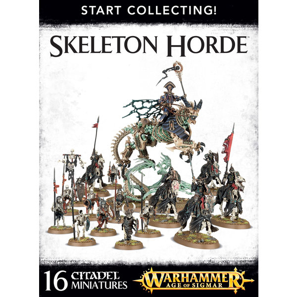 Warhammer Age of Sigmar Start Collecting! Skeleton Horde