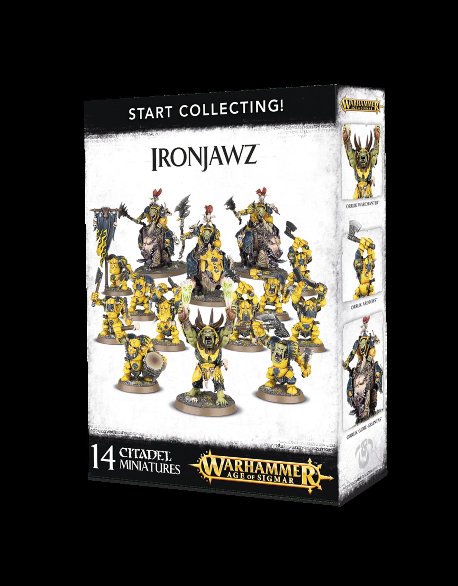 Warhammer Age of Sigmar Start Collecting! Ironjawz