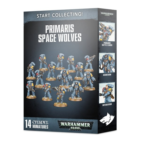 Warhammer 40,000 Start Collecting! Primaris Space Wolves