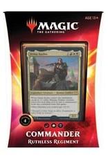 Magic: The Gathering Commander 2020 Deck - Ruthless Regiment