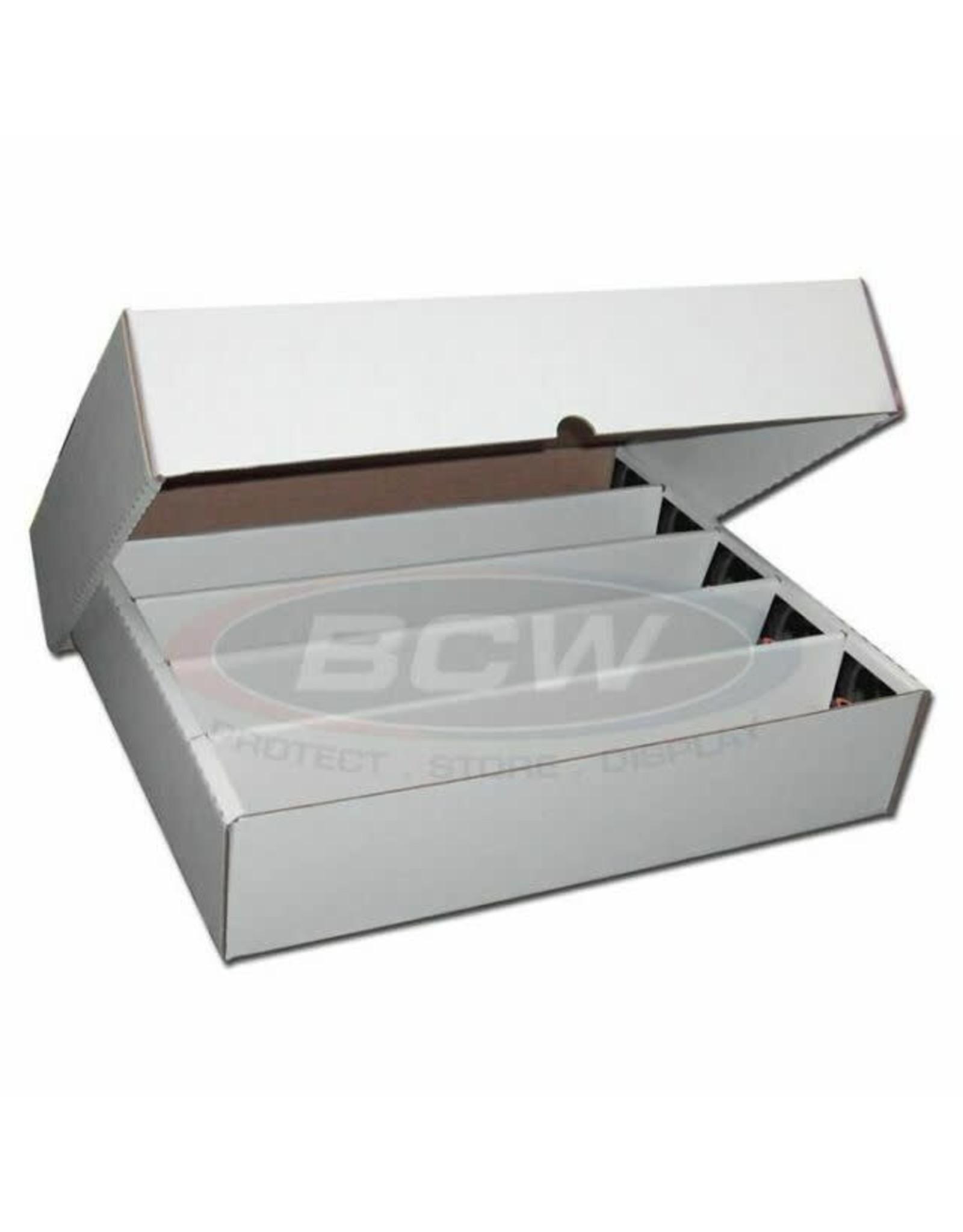 BCW 5000 Count Storage Box (Full Lid)