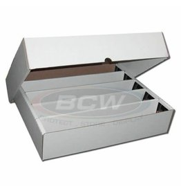 BCW 5000 Count Storage Box (Full Lid)