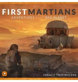 Portal Games First Martians Adventures on the Red Planet