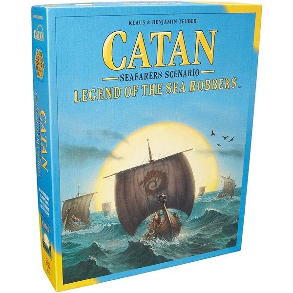 Catan Studio Catan Seafarers Scenario Legend of the Sea Robbers