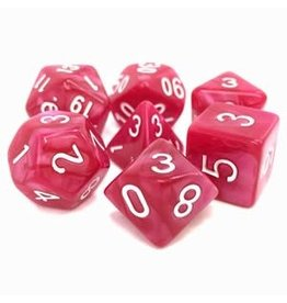 TMG Supply Dargon's Dice 7pcs Coral Grief
