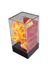 Chessex Festive Sunburst w/red Polyhedral 7-Die Set