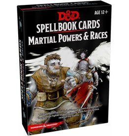 Wizards of The Coast Spellbook Cards Martial Powers & Races