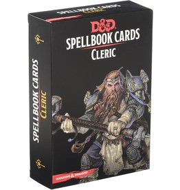 Wizards of The Coast Spellbook Cards Cleric