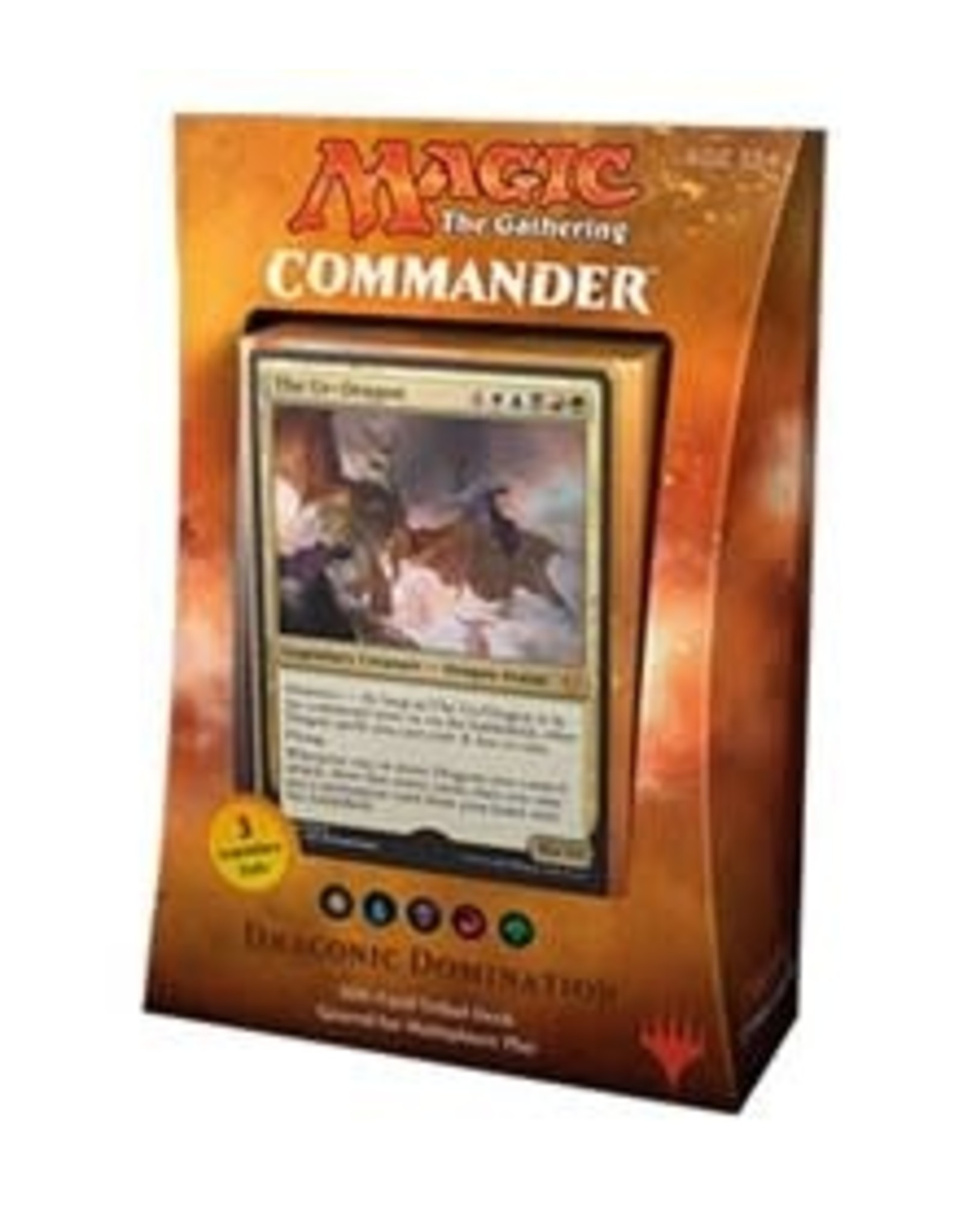 Commander 2017 Deck - Draconic Domination