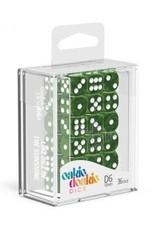 Oakie Doakie Dice D6 12mm Marble Green