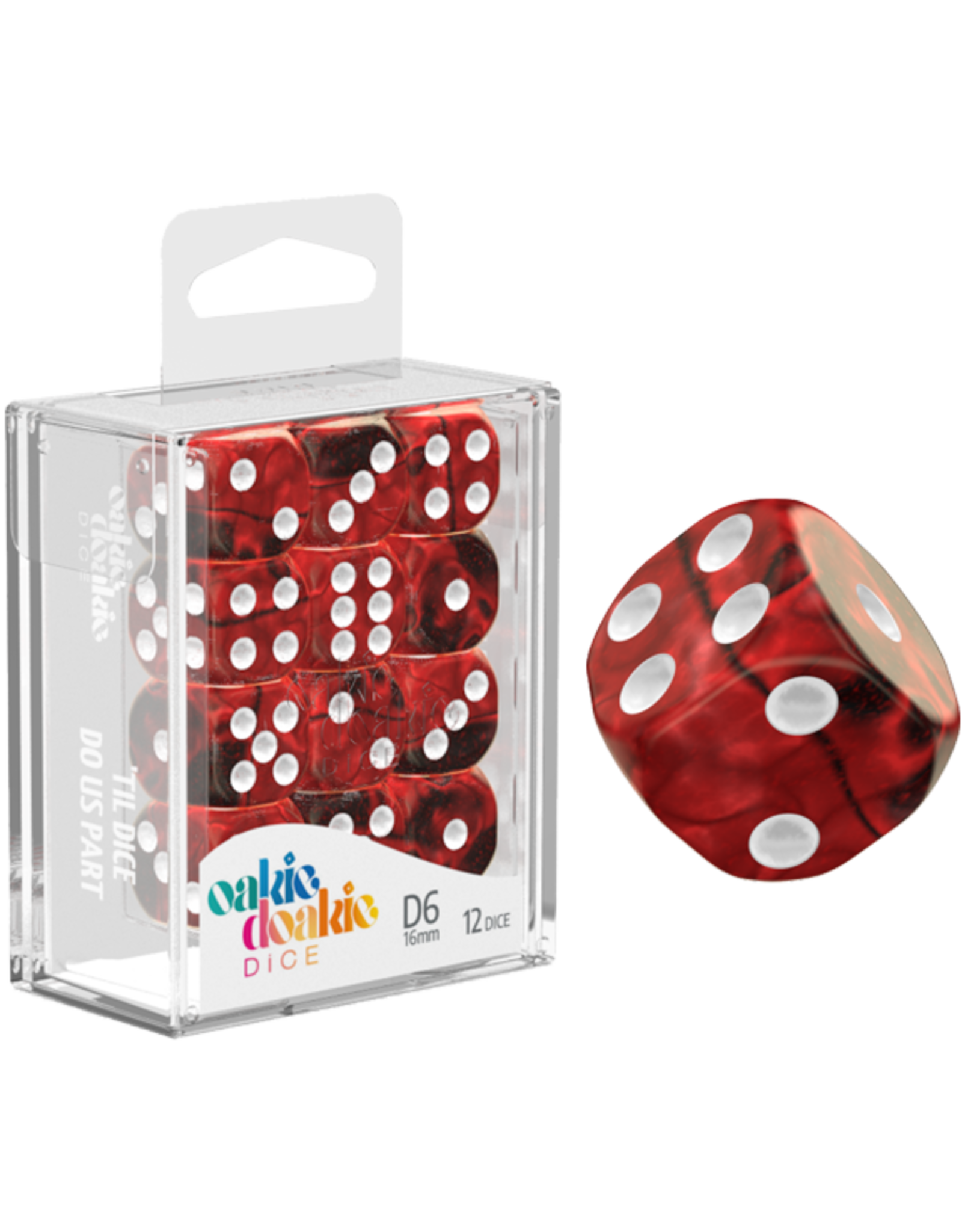 Oakie Doakie Dice D6 16mm Gemi Vampire
