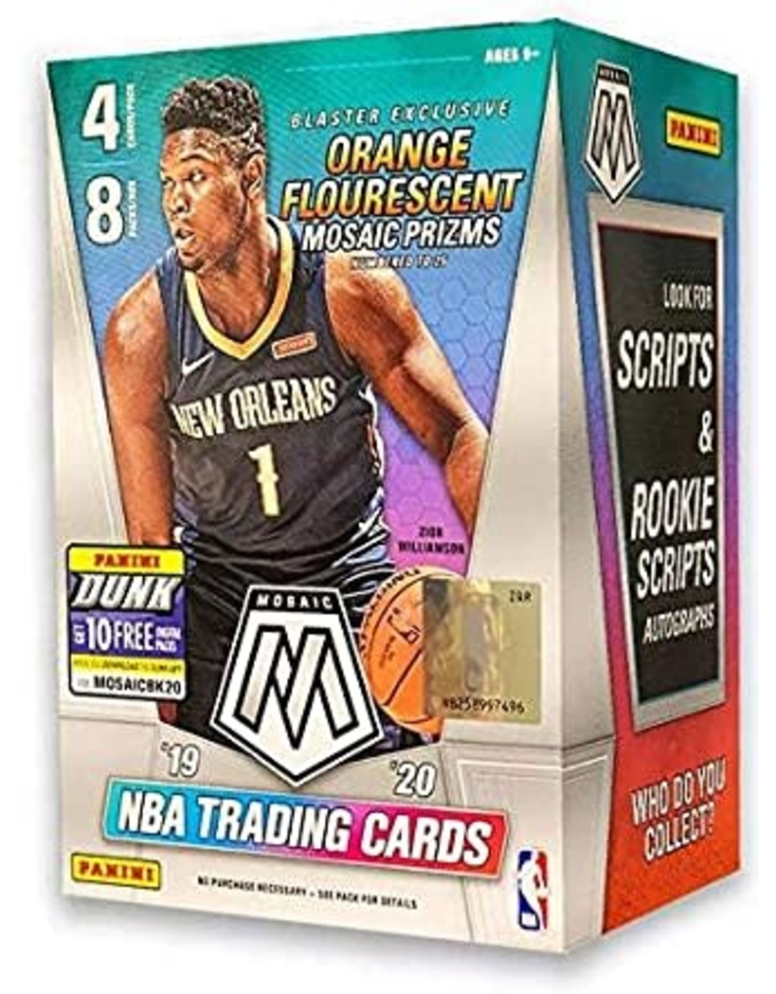 Panini 2019/20 Panini Mosaic Basketball Blaster Box