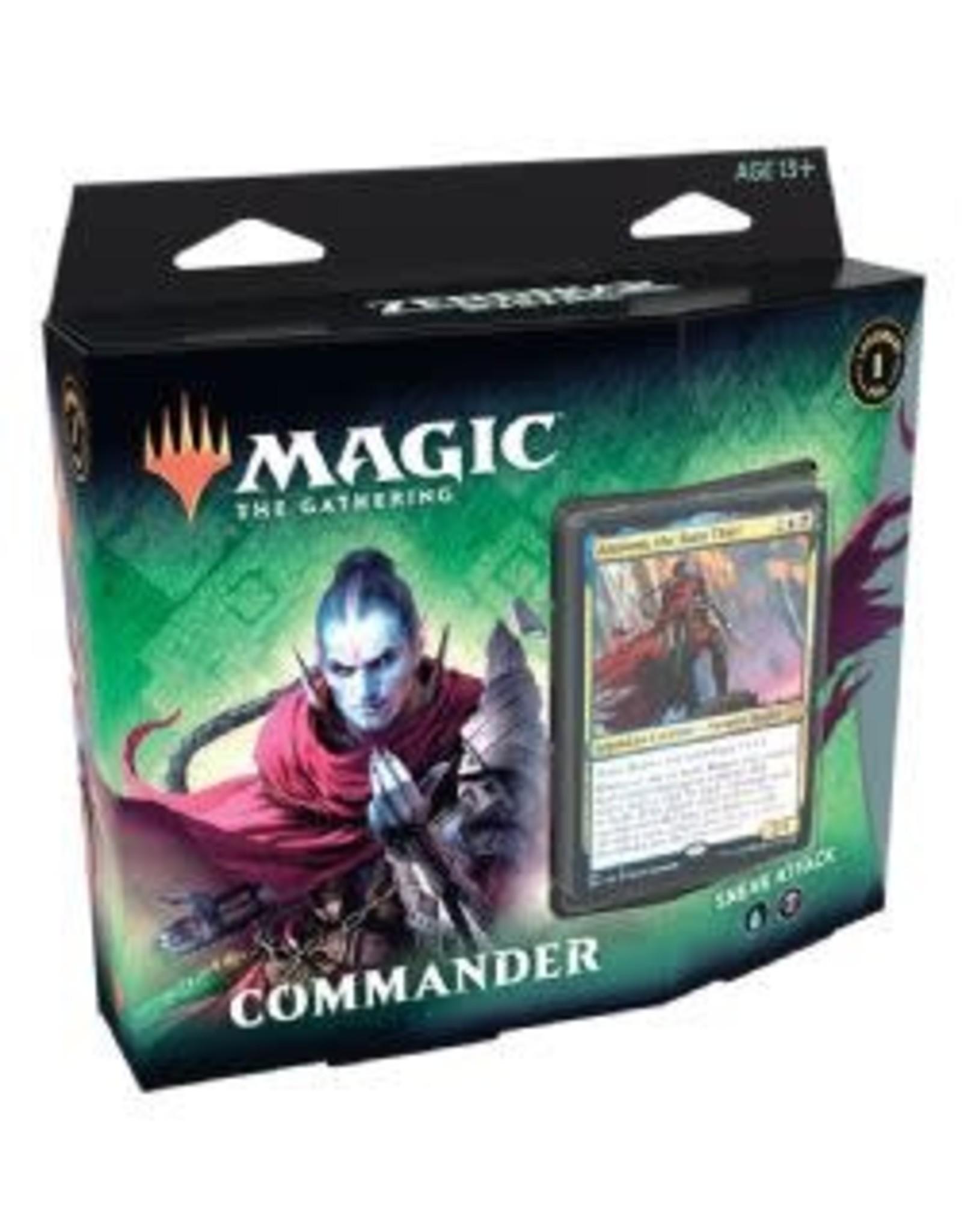 Magic: The Gathering Zendikar Rising - Sneak Attack Commander Deck
