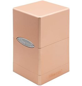 Ultra Pro Satin Tower Deck Box  Metallic Rose Gold