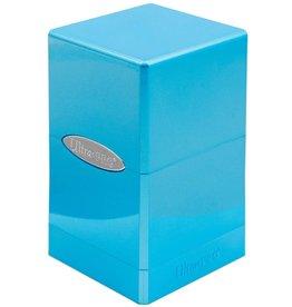 Ultra Pro Satin Tower Deck Box  Hi-Gloss Topaz