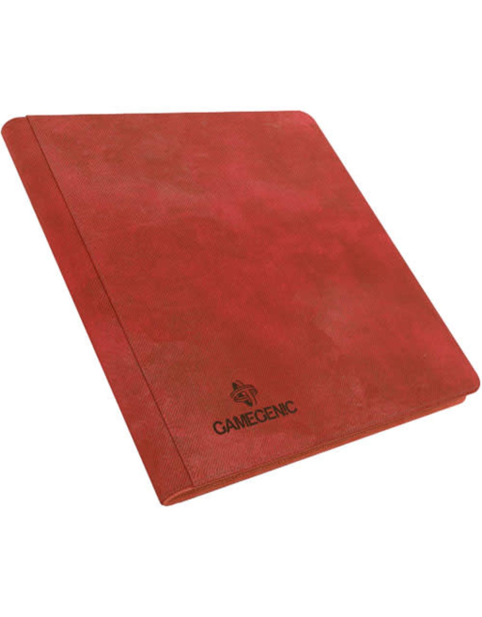 Gamegenic Zip-up Album 24-Pocket Red