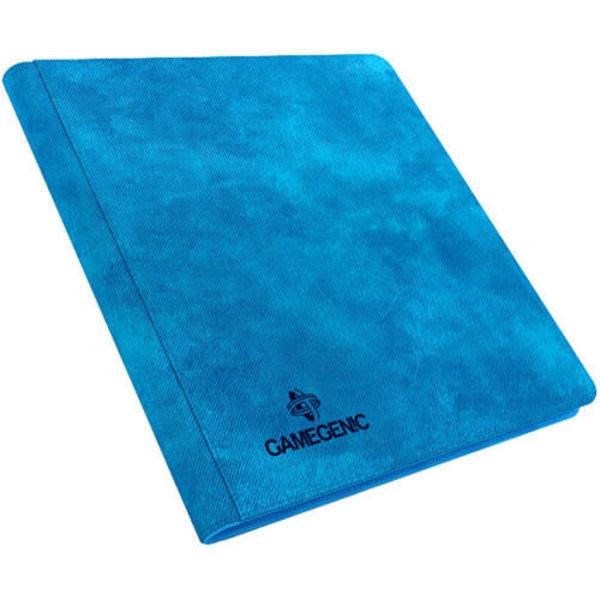 Gamegenic Zip-up Album 24-Pocket Blue