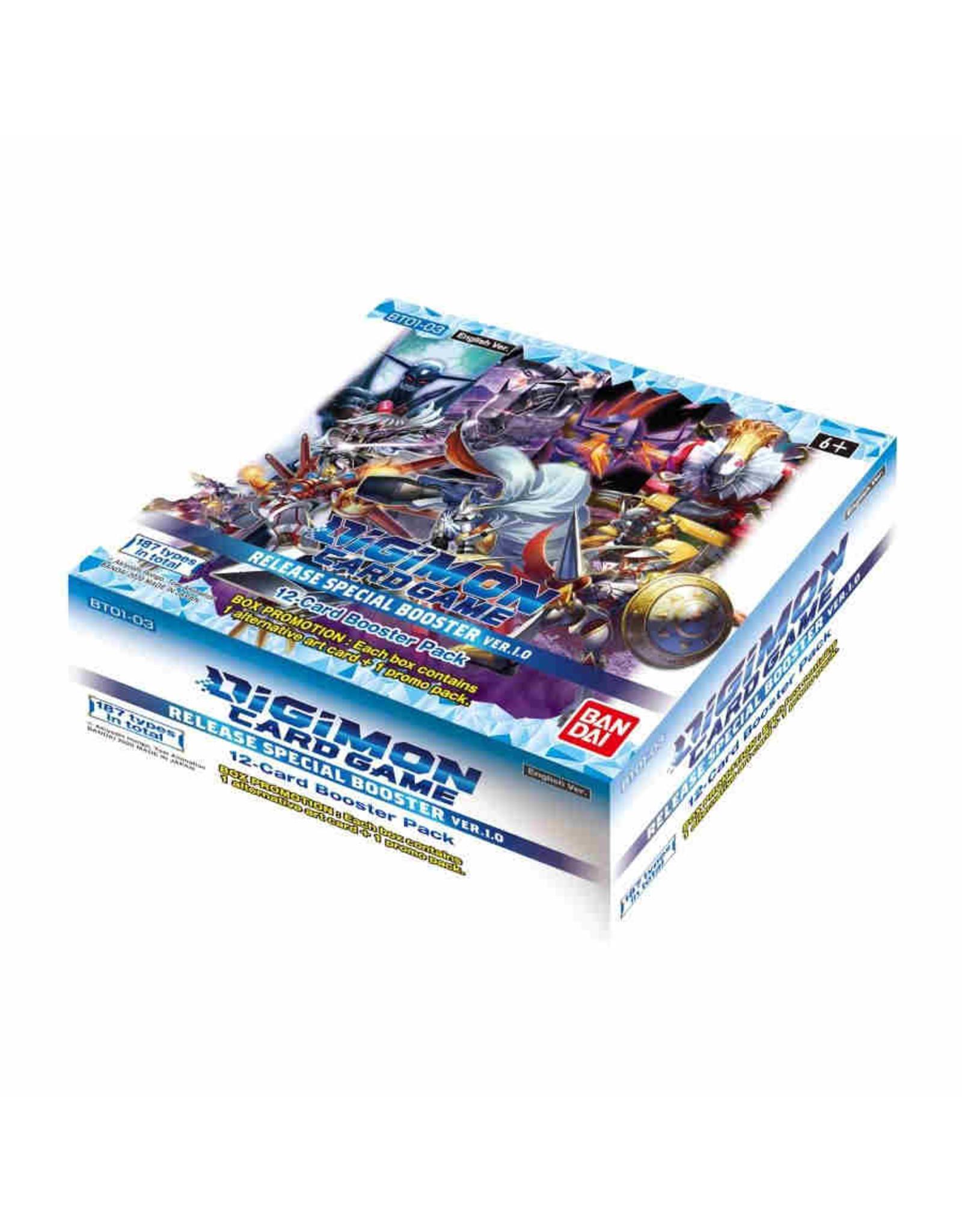 Bandai Digimon V1.0 Booster Box