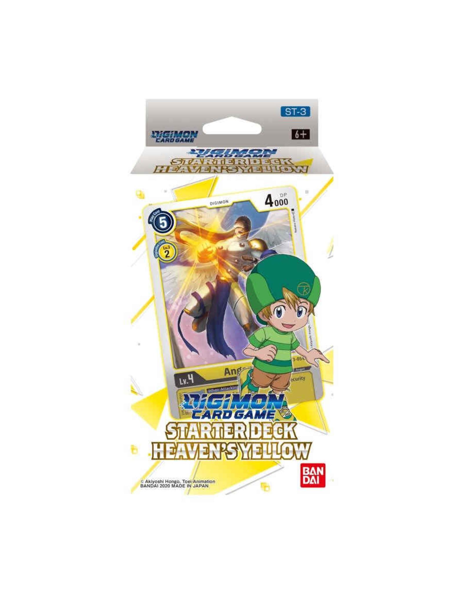 Bandai Digimon Card Game Starter Deck Heavens Yellow