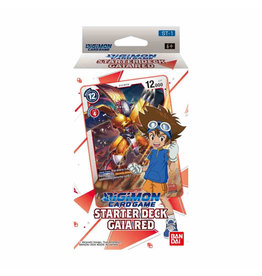 Bandai Digimon Card Game Starter Deck Gaia Red