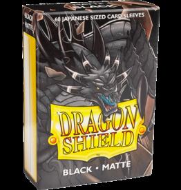 Arcane Tinmen Dragon Shield Black Matte 60 Japanese