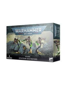 Warhammer 40,000 Necrons: Ophydian Destroyers