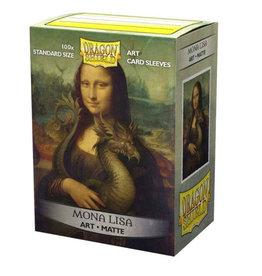 Arcane Tinmen 'Mona Lisa' Art Sleeves Matte 100 Standard