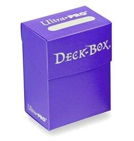 Ultra Pro Deck Box Purple