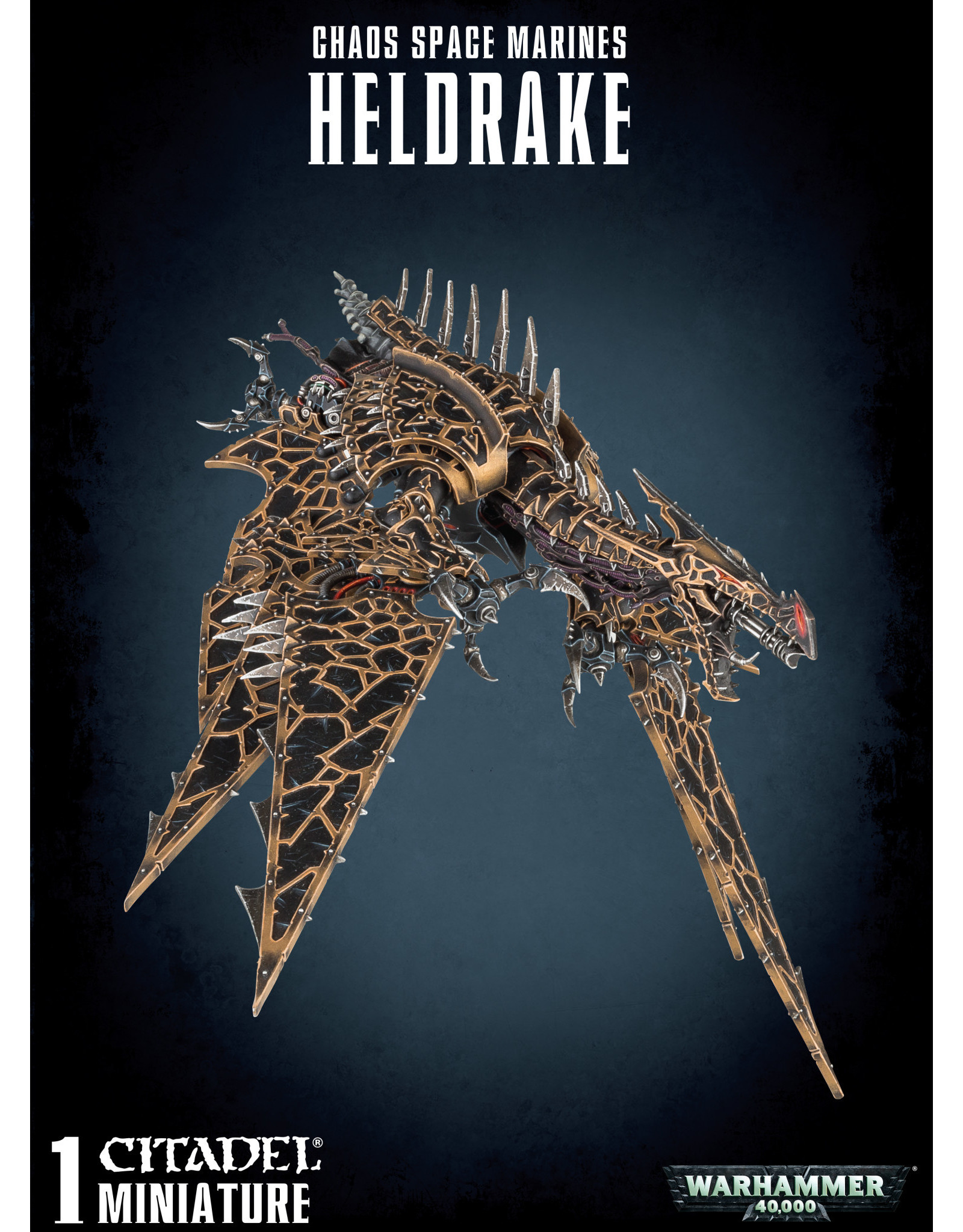 Warhammer 40,000 Chaos Space Marines: Heldrake