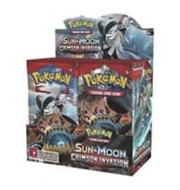 Pokemon Crimson Invasion Booster Box